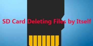 Memory Card Data Deleted Automatically? How to Fix This Issue?