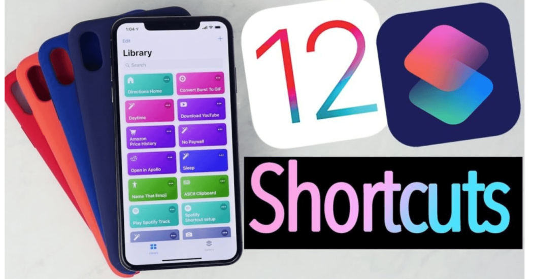 siri shorcuts in iOS 12