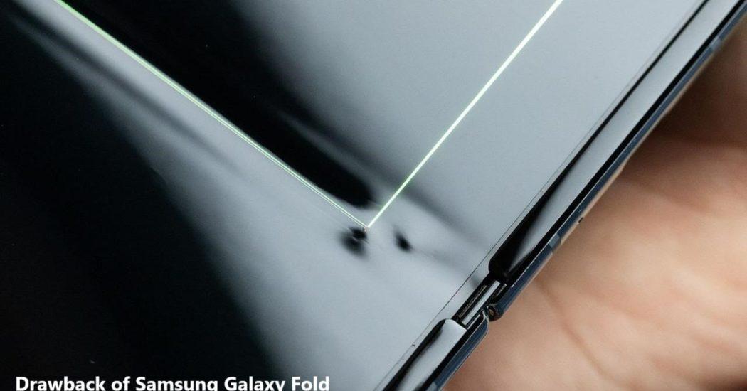 drawback-of-samsung-galaxy-foldable-smartphone