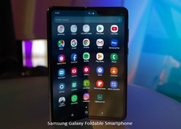 Samsung Galaxy Foldable Smartphone in 2019