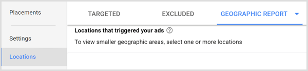 google ads geographic report