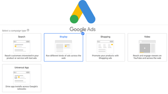Types of google ad campaign