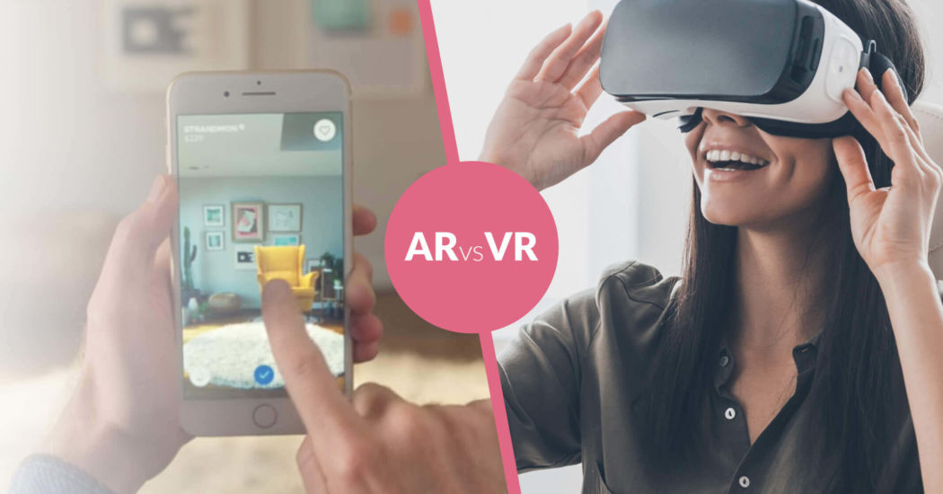 Difference Between Augmented Reality (AR) vs Virtual Reality (VR)?