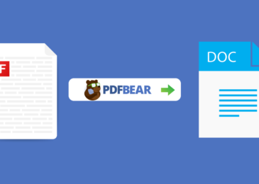 4 Easy Steps – How To Do File Conversion with PDFBear?
